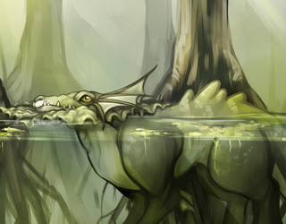 Swampland Vaporeon