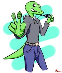 Spex The Gecko (art)