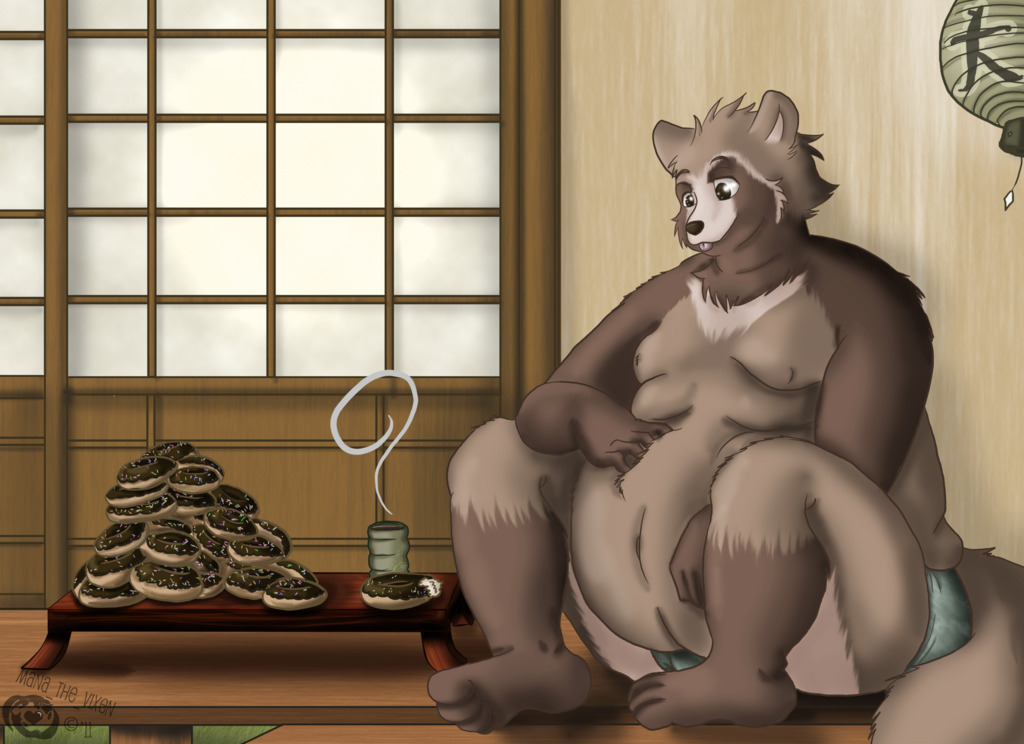 Mornings with Tanuki-san - GIFT [OLD ART]