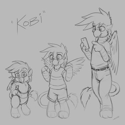 Kobi Reference Sketches