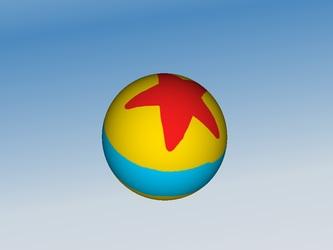 3D Luxo Ball