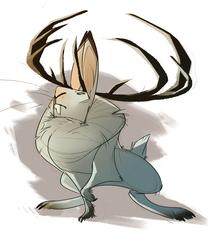 snowshoe jackalope
