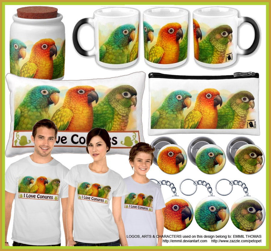 The three conures