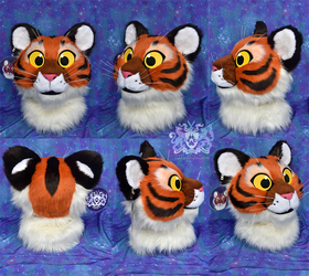 Plush Tiger Head