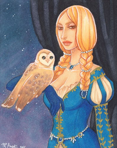 The Queen Aceo