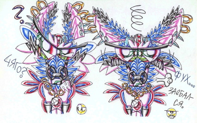 Two emotions of Likan-Soulkill