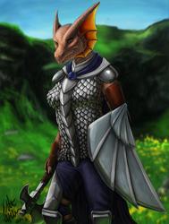 Kavarra Dragonborn (D&D)