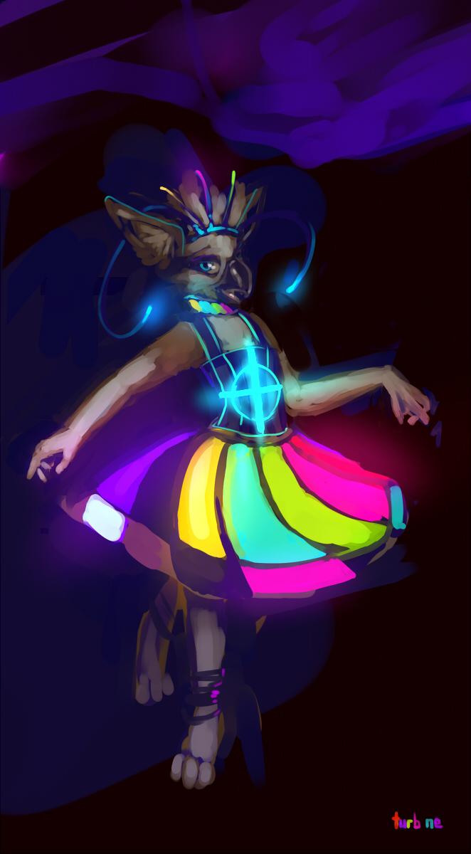 Pysrus rave dress by TurbineDivinity