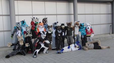 Fursuiters at LBM 2012