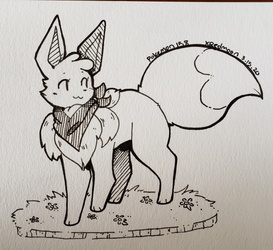 [Art Trade] Shine the Shiny Eevee!