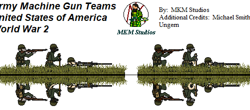 US Army MG Teams