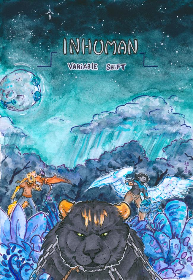 [inhuman] arc 16 cover art