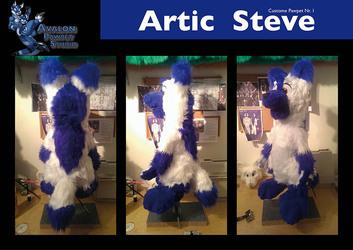 Artic Steve 1. Custom Pawpet