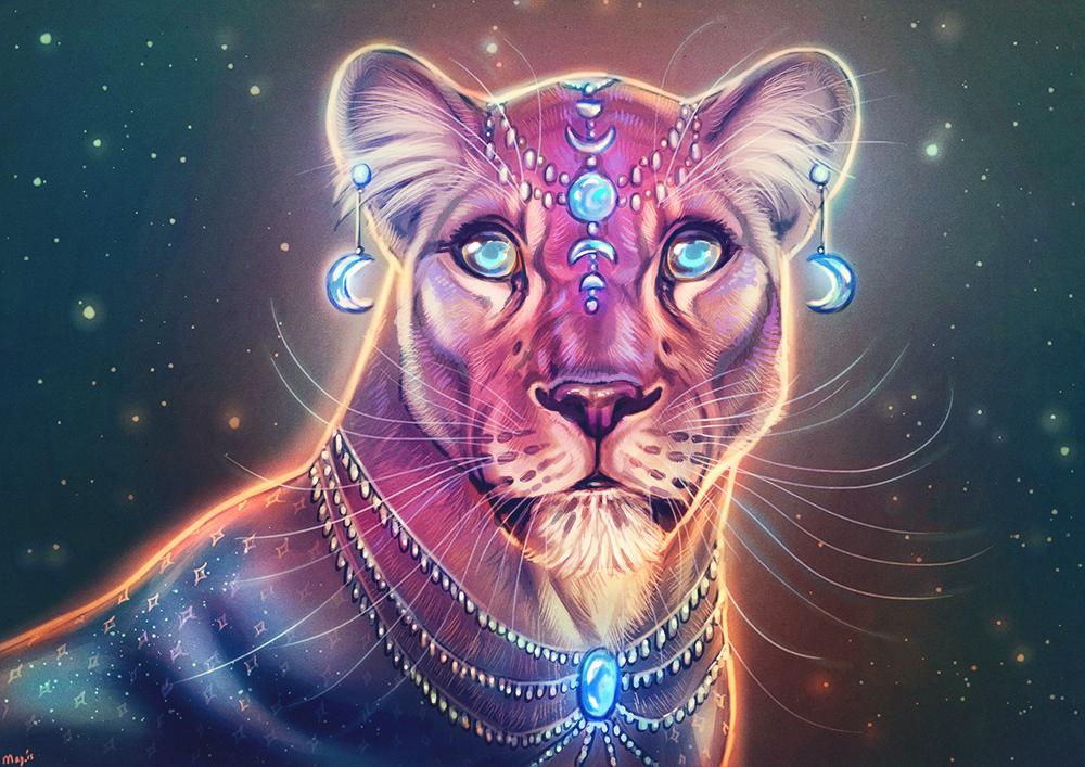 Lunar Lioness