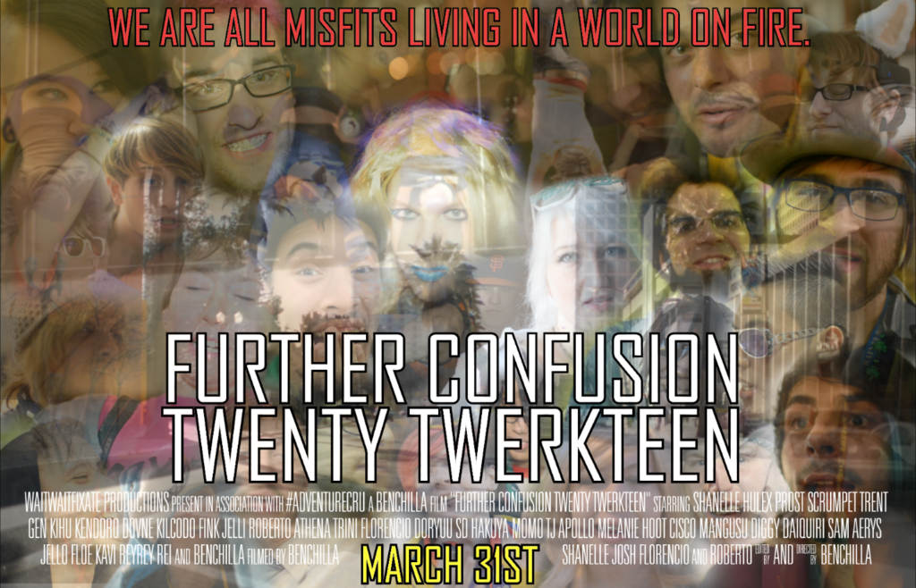 Featured image: Further Confusion Twenty Twerkteen Poster