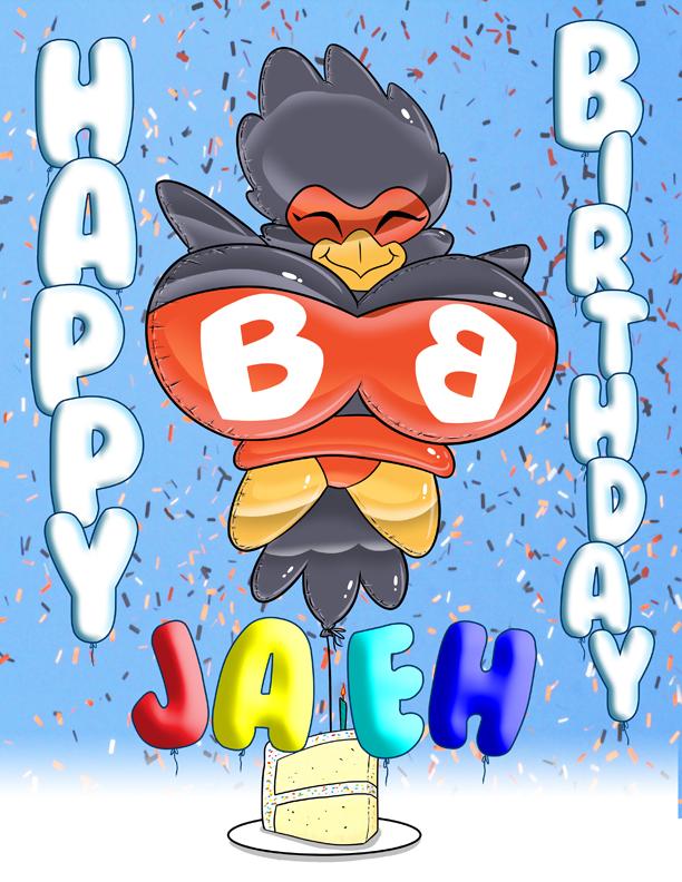 Happy Birthday Jaeh!