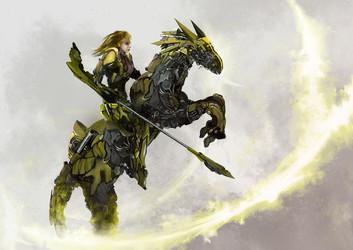 Robot Horse Girl