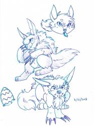 [Sketchbook] Aureumon
