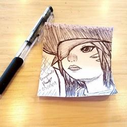 Work Doodles - (FFXIV) Belle Grim