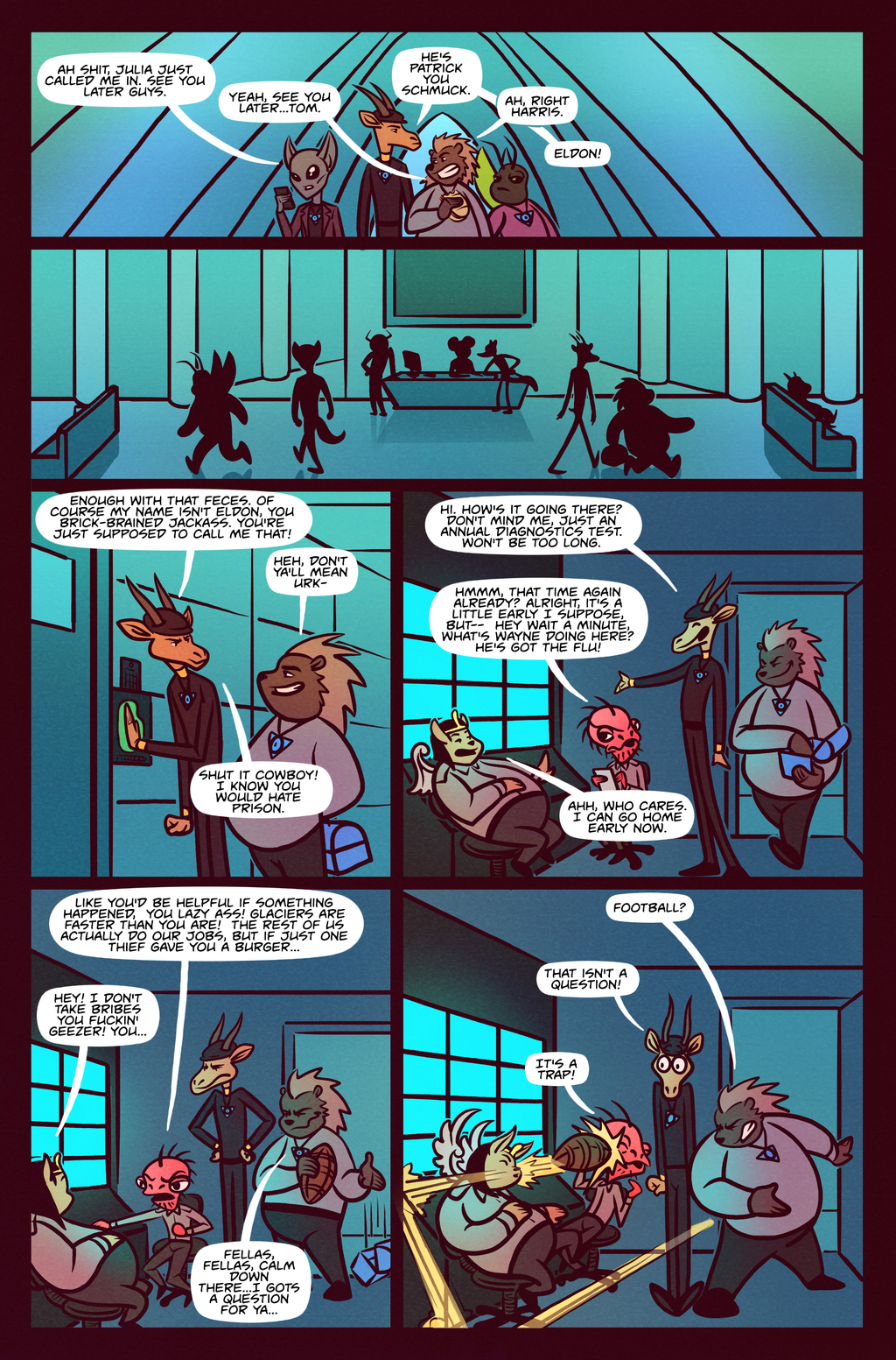 Death Valet Chapter 2 Page 14