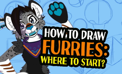 Now on Youtube! How to Draw Furries: Ep01