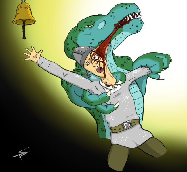 Most recent image: Lizardman Attack - Ring Dat Bell