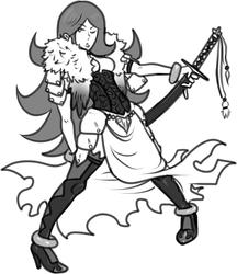 Blade maiden.
