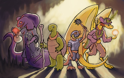 party reptiles