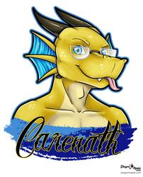 Carenath April Badge