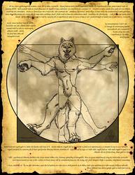 Vitruvian Lycanthrope