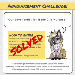 CSZ - Issue 2 Artist Announcement Challenge