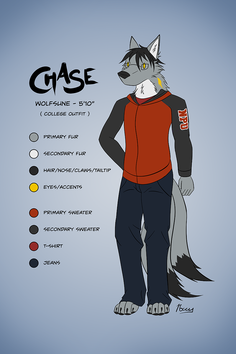 Chase Ref Sheet - College