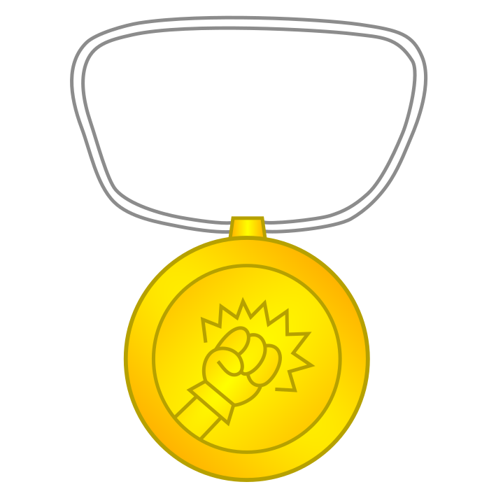 Hyper-Punch Gold Medal