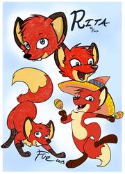 Rita the Fox Doodles