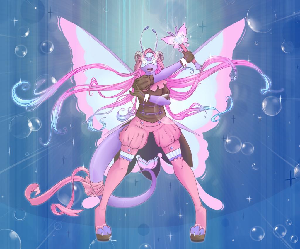 commission: Magical Taala Transform!