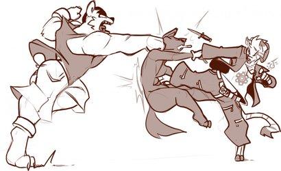Tag Team Brutality