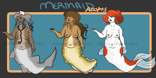 Mermaid Adopts 2 [OPEN]