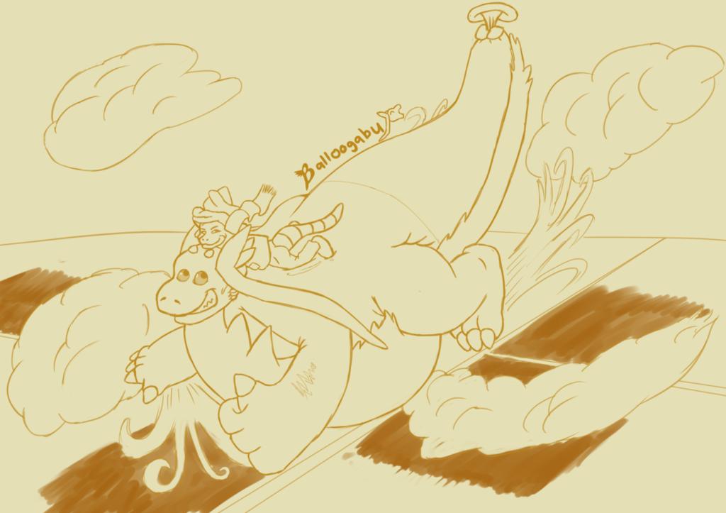 Riilu's Comfy Ride in the Sky