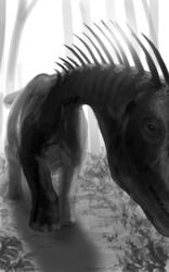 Dinovember - 5 - Amargasaurus