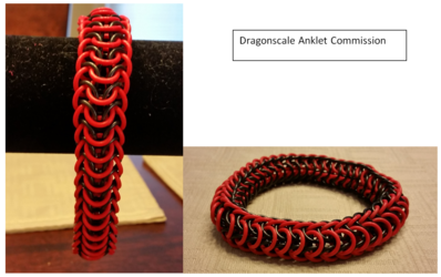 Dragonscale Anklet Commission