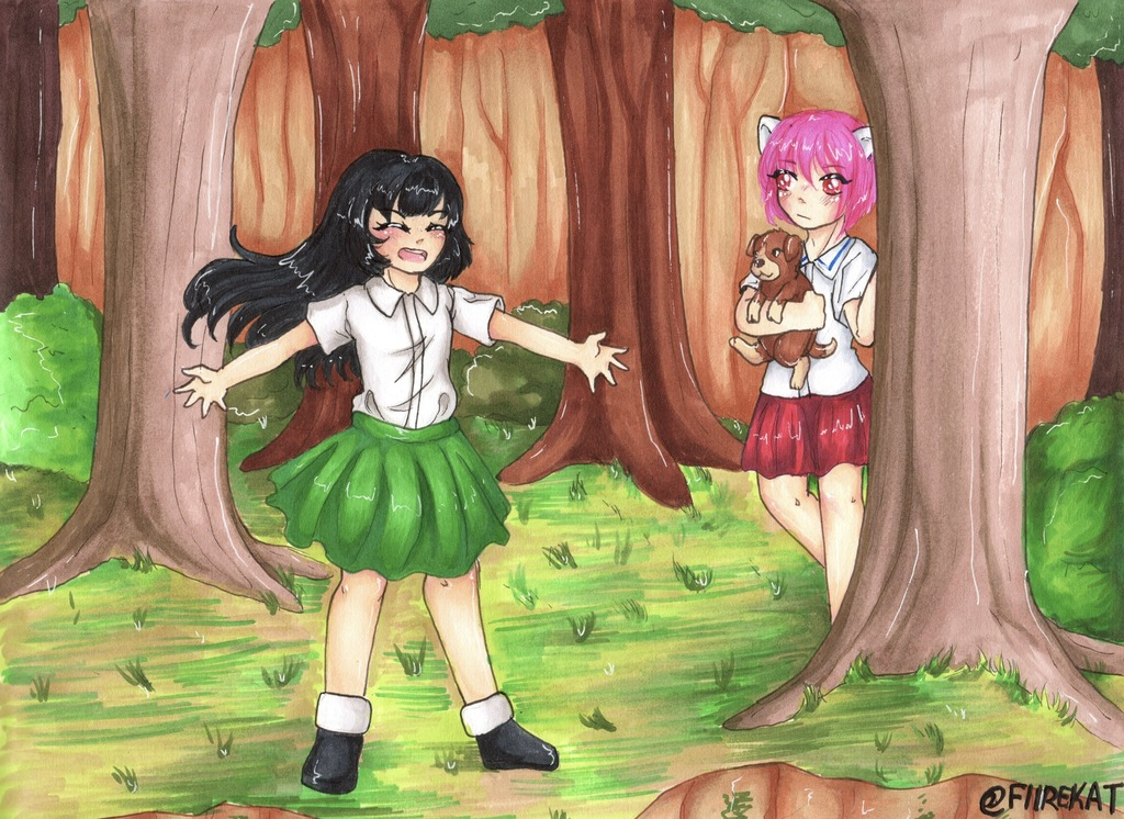 Nozomi and Lucy