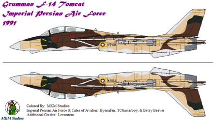 Imperial Persian Air Force F-14 Tomcat