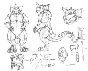 Toymancer Squire Hadar - Draft