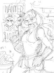 Random Doodle: Krystal the Fox