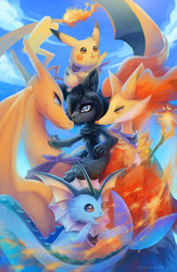 Pokemon Team Commission for theblackvixen