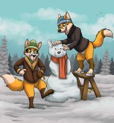 Do you wanna build a snow fox?!