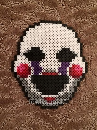Marionette Bead Badge