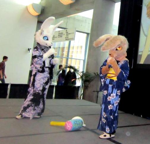 Yukata White Rabbit March Hare