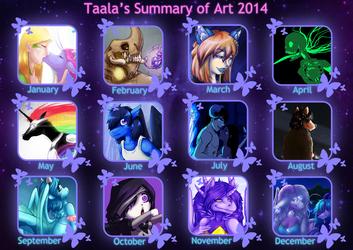 Taala's Summary of Art 2014