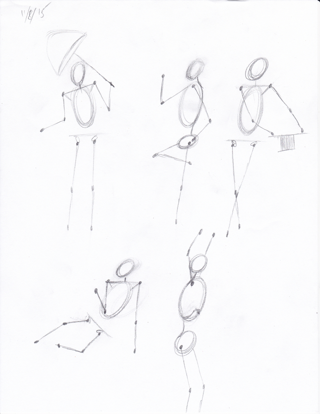 Most recent image: Sketchbook Page 11 - November 15th, 2015